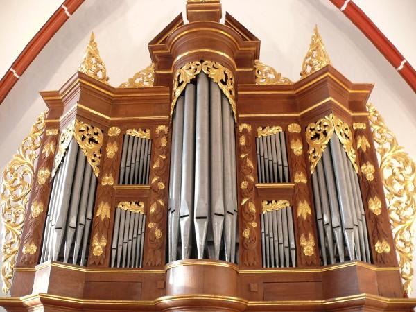 Weidtmannorgel in der Evangelischen Kirche Hoerstgen
