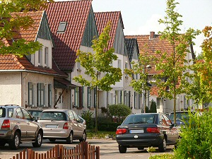 """Ряд домов в """"Altsiedlung Kamp-Lintfort"""""""